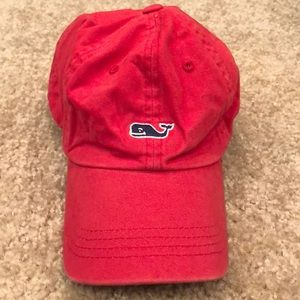 Red Vineyard Vines hat